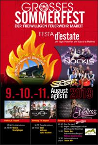 Die SEER live @ Festplatz Mareit | Mareit | Trentino-Südtirol | Italien
