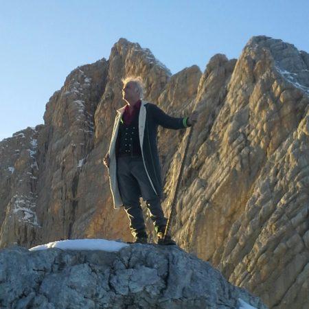 Fred Jaklitsch am Dachstein@ Gustl Viertbauer