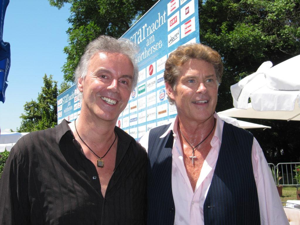Starnacht Fred und David Hasselhoff